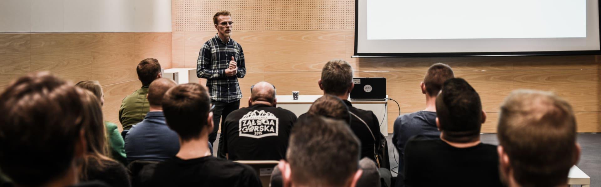 Szymon Leyk – trener programowania