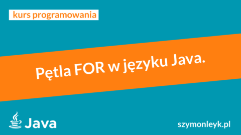 pętla for java